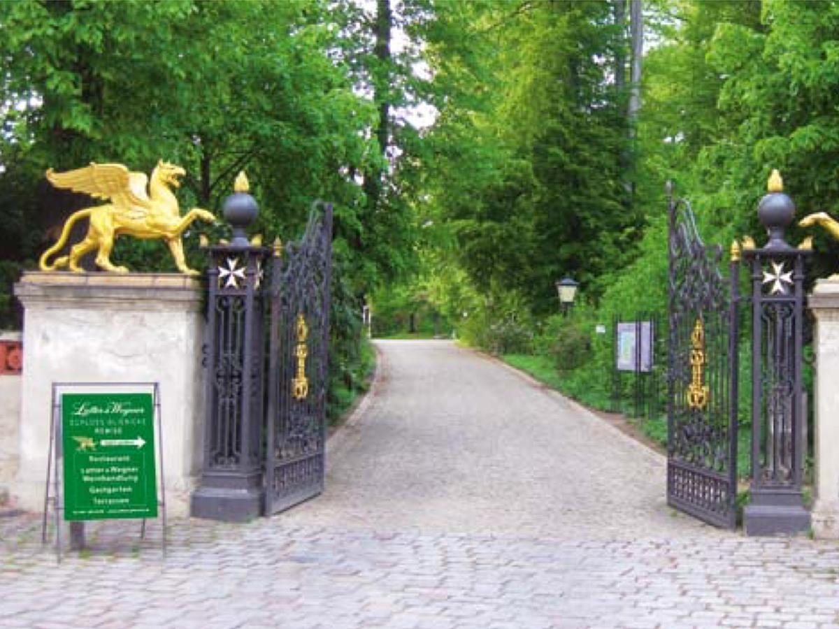 Im Schloss Glienicke